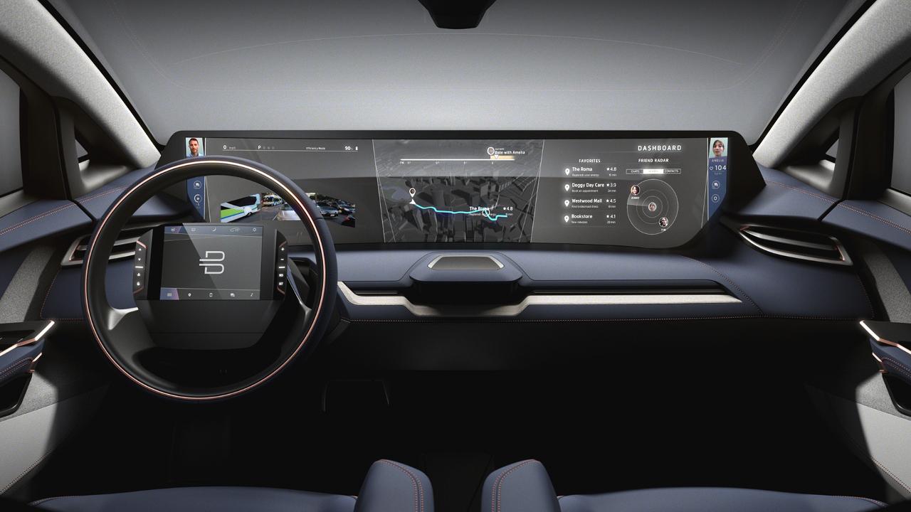 Der neue Byton: Außen Auto, innen Smartphone | Foto: Byton