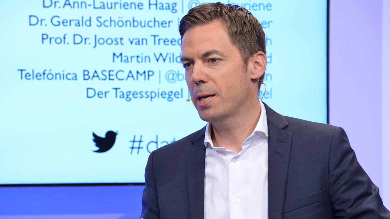 Wolfgang Metze, Vorstand Privatkunden von Telefónica Deutschland. | Foto: Henrik Andree