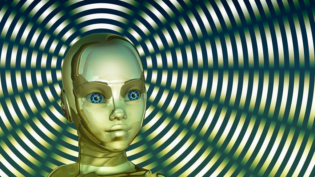 pixabay geralt Roboter Kopf