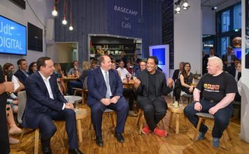 UdL Digital Talk - Cherno Jobatey mit Prof. Dr. Helge Braun, Markus Haas, Chris Boos