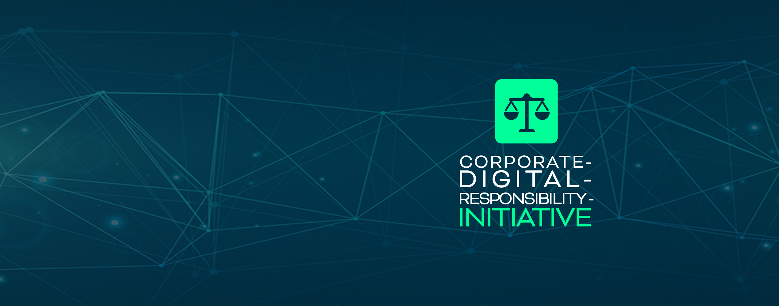 Logo Corporate Digital Responsibility Initiative CDR