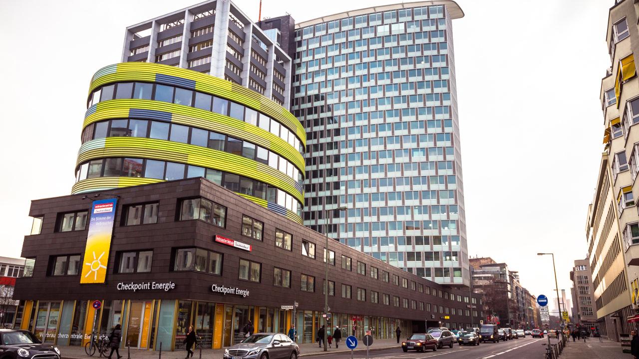 Startup-Hochhaus in der Berliner Charlottenstraße: Hier sitzt auch Telefónica NEXT (Foto: Rocket Internet)