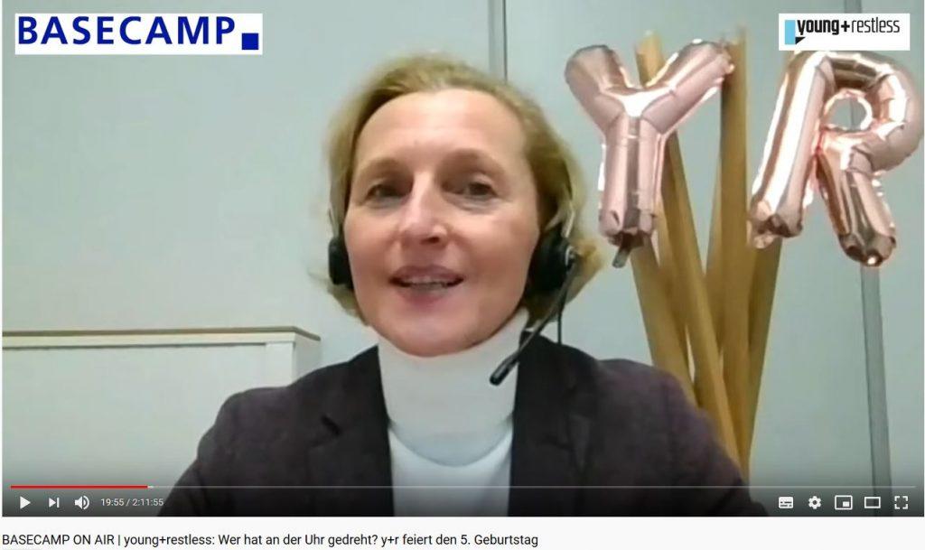 Foto: Screenshot der Veranstaltung. Iris Rothbauer, Telefónica Deutschland