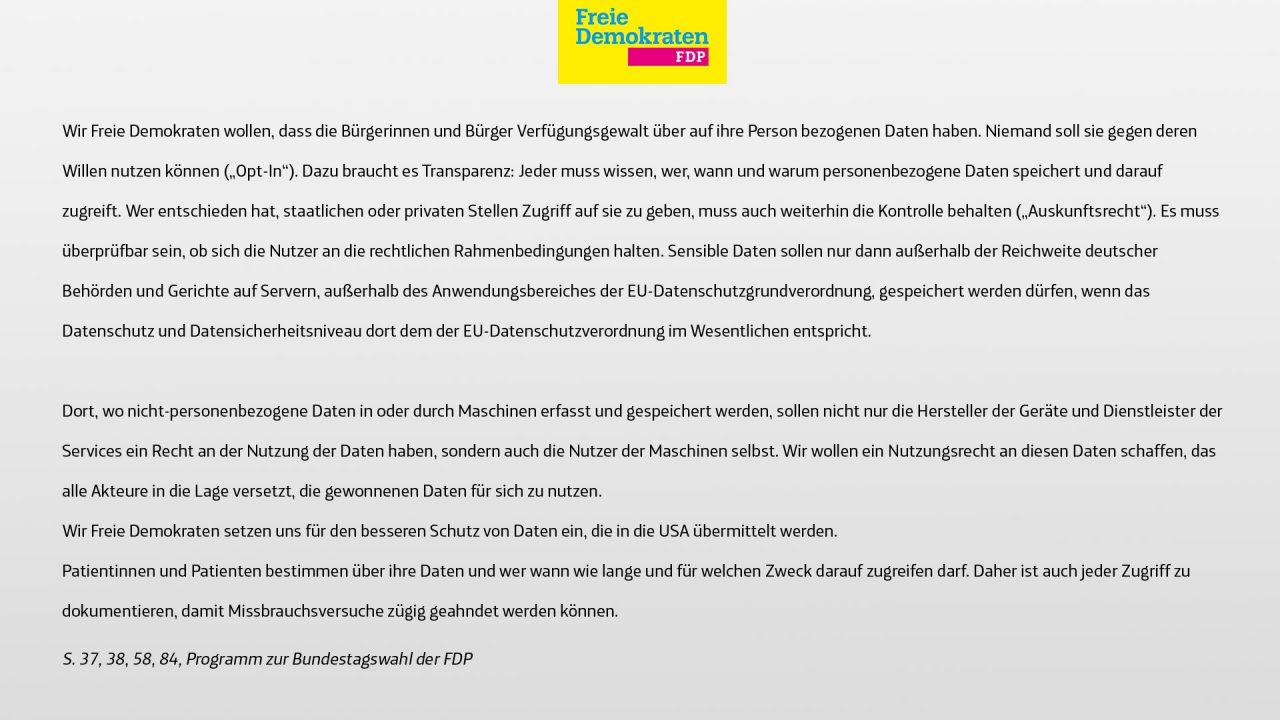Datenschutz-FDP-Slides