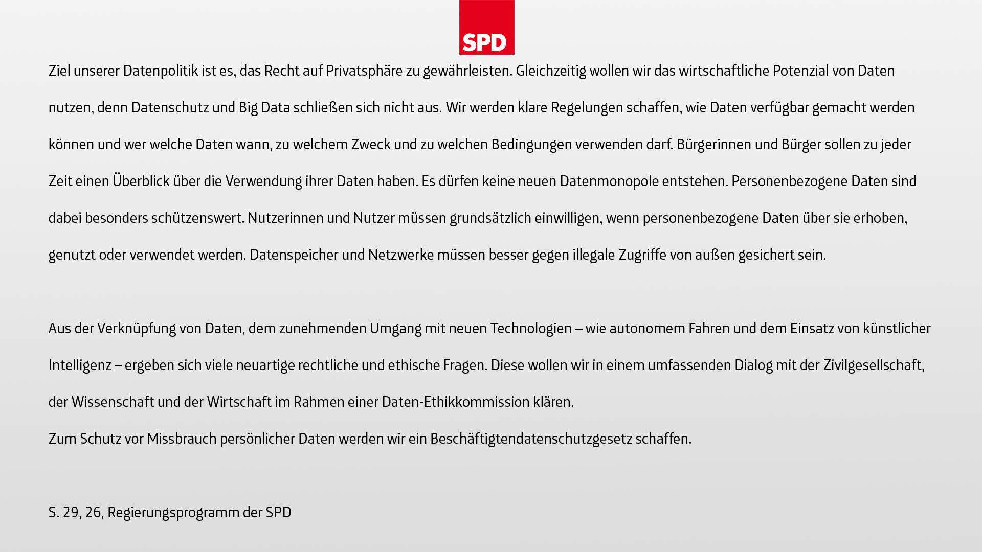 Datenschutz-SPD-Slides